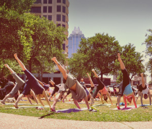Yoga at The Long Center – Summer Fit Series