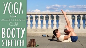 Yoga On The Road- Booty Stretch