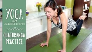 Practice for Chaturanga Dandasana