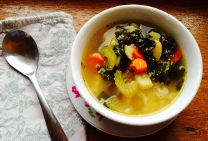 Simple and Healthy  – Vegetable Comfort Soup