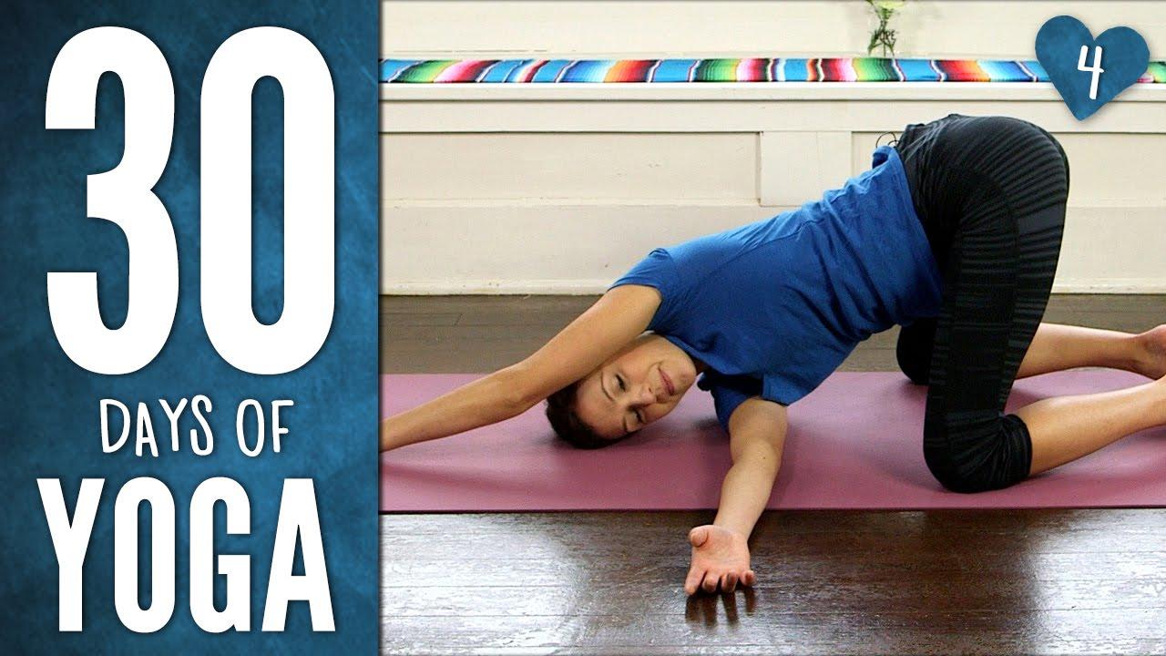 30 Days Of Yoga Day 4 Yoga With Adriene