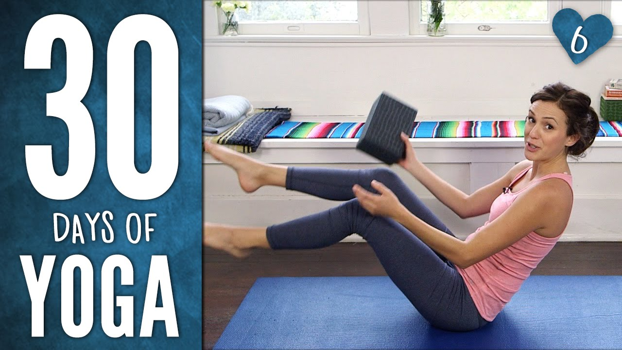 30 Days of Yoga - Day 6