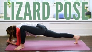 Lizard Pose – Utthan Pristhasana