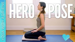 Hero Pose – Virasana