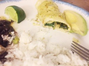 Clean and Green Enchiladas