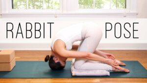 Rabbit Pose – Sasangasana