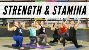 Strength and Stamina – Roller Derby Yoga
