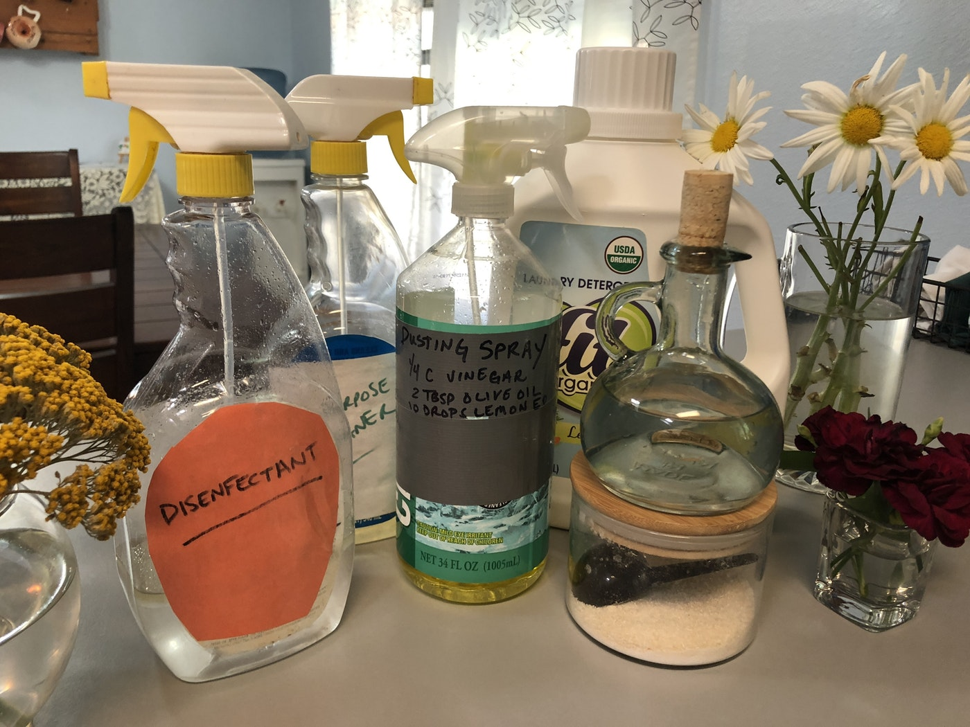 Homemade Household Cleaners